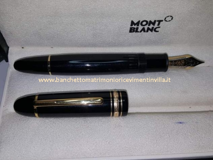 Montblanc Penne Usate